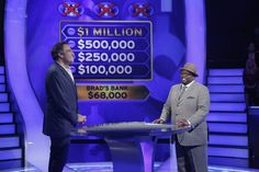 Wednesday, it's Day 3 of Celebrity Week! And Brad Garrett begins one step closer to winning big cash for charity, hoping to take home at least $100,000! Go to www.millionairetv.com for time and channel to watch #MillionaireTV!