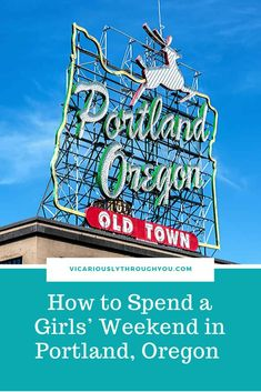 If you are looking for a fun girls' weekend, give Portland a look. There is a lot to see, do and eat there. Read about some of your options in this post.