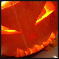 Day 18: sth you made ~ my selfmade pumpkin last Halloween #photoadayMay #pumpkin #Halloween
