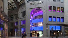 Departmentstore Excelsior Milano Galleria del Corso 4, in the heart of Milan;