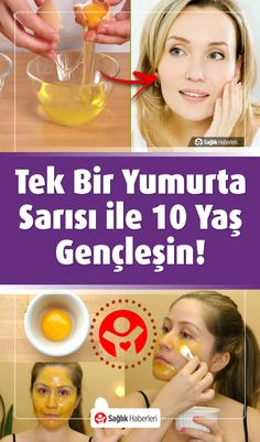 Get 10 Years Younger with a Single Egg Yolk!- Get 10 Years Younger with a Single Egg Yolk! Natural Cures, Natural Health, Beauty Secrets, Beauty Hacks, Dermaroller, Health And Wellness, Health Fitness, Les Rides, Homemade Skin Care