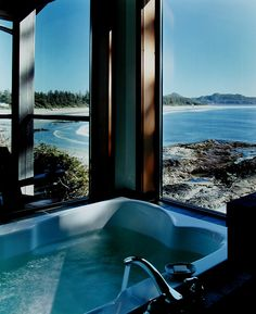 Relais & Chateaux - The Wickaninnish Inn is situated on a rocky outcrop…