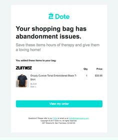 33 Best Abandoned Cart Emails Images Best Email Email Newsletter