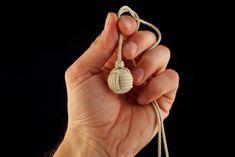 """Плетение декоративного узла """"Обезьяний Кулак"""" (Monkey Fist) - Ярмарка Мастеров - ручная работа, handmade"""