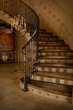 Charmant Rotunda Stairs   Mediterranean   Staircase   Phoenix   Beringer Fine Homes