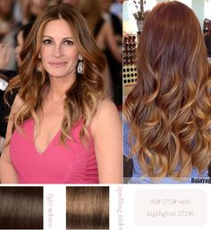 {Vpfashion Hair Extensions} 2014 Celebrity Inspired Hairstyles and Colors brown ombre color, loose curls, ombre wavy curls