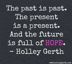 HOPE...my word for the year.