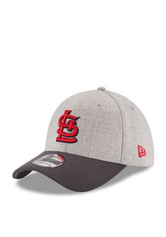 online retailer 21a5e 76aa4 New Era St Louis Cardinals Mens Grey Change Up 3930 Flex Hat Cardinals  Baseball, St