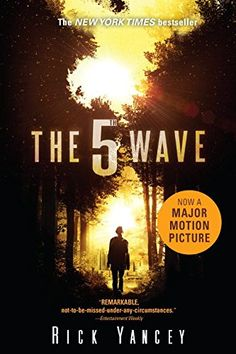 The 5th Wave- After the 1st wave, only darkness remains. After the 2nd, only the lucky escape. And after the 3rd, only the unlucky survive. After the 4th wave, only one rule applies: trust no one.  Now, it's the dawn of the 5th wave. Cassie runs from Them; the beings who only look human. To stay alone is to stay alive, Cassie believes, until she meets Evan Walker who may be Cassie's only hope for rescuing her brother--or even saving herself. But Cassie must choose: To give up or to get up.