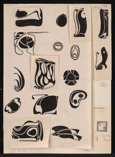 Motifs Art Nouveau, Art Nouveau Design, Design Art, Art Deco, Art And Illustration, Illustrations Posters, Nouveau Tattoo, Koloman Moser, Jugendstil Design