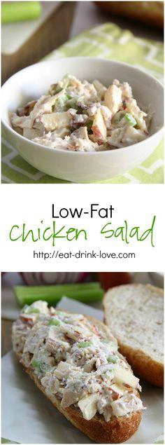 Low-Fat Chicken Salad