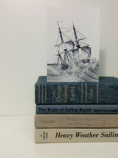 Vintage Nautical Decor Books