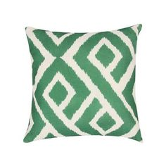 Lillian Throw Pillow in Emerald Green Cushions, Apt Ideas, All Nature, Formal Living Rooms, Colorful Furniture, Club Chairs, Beautiful Patterns, Own Home, Shades Of Green