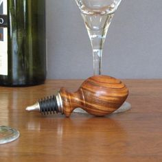 Hey, I found this really awesome Etsy listing at https://www.etsy.com/listing/258541009/tigerwood-wine-bottle-stopper-wood