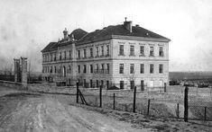 Chorobinec postaven roku 1902-později štáb ČSLA, nyní byty pro TPCA Louvre, Retro, Building, Travel, Historia, Viajes, Buildings, Destinations, Traveling