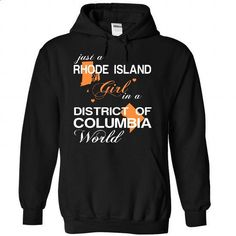 (RIJustCam002) Just A Rhode Island Girl In A District_O - #tshirt recycle #tshirt painting. CHECK PRICE => https://www.sunfrog.com/Valentines/-28RIJustCam002-29-Just-A-Rhode-Island-Girl-In-A-District-5FOf-5FColumbia-World-Black-Hoodie.html?68278