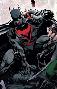 Dr. Thomas Wayne, Batman of Earth-2 and Flashpoint.