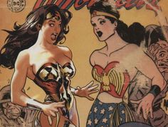 Wonder Woman - going back to the 1920s?