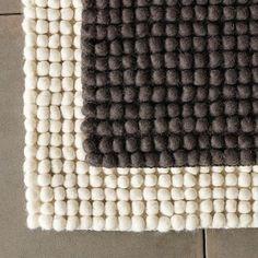 West Elm Pebble rug