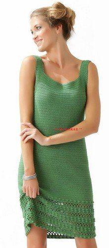 Crochet - vestido - vestidos de verano. Discusión sobre LiveInternet - Servicio de Rusia Diarios Online
