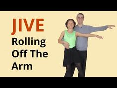 How to Dance Basic Jive | Rolling Off The Arm - YouTube