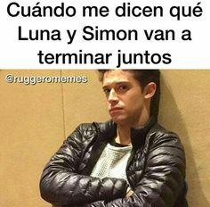 Quando me dizem que Luna e Simon vão terminar juntos