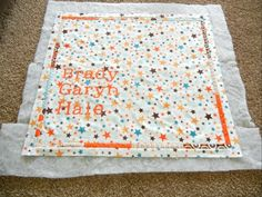 How to baste a quilt ... step by step directions