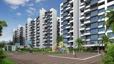 Moshi, Woodsville -A Veritable Town Within A City By Pharande Spaces  1, 2 and 3 Bedroom Apartments @4000/sq.ft Contact: Sushil (09011127400)  http://www.expomantra.com/expoinc/dsn/177