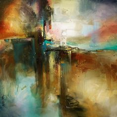 """<3  """"Bridge to Eternity"""" / This is one of Michael Lang's beautiful works."""