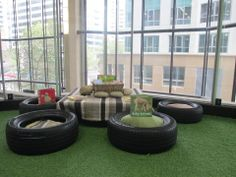 Tyre cushions