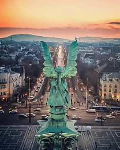 Archangel Gabriel the Awakener, Over Budapest, Hungary Beautiful Places To Travel, Most Beautiful Cities, Cruise Travel, New Travel, Places Around The World, Travel Around The World, Budapest Travel Guide, Capital Of Hungary, Budapest Hungary