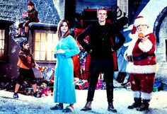 Doctor Who Christmas special title is Last Christmas, starring Peter Capaldi, Jenna Coleman and Nick Frost as Father Christmas Dr Who Christmas Special, Doctor Who Christmas, Last Christmas, Father Christmas, Doctor Who 10, Second Doctor, Original Doctor Who, Meet Santa, Xmas