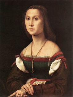 Raphael, Woman (La Muta) 1507
