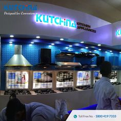 Kitchen appliances stall @ Mega Trade Fair