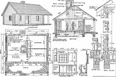 Looking for log cabin floor plans? We have you covered with these totally free plans, ranging from small cabin plans through to large family log home plans.