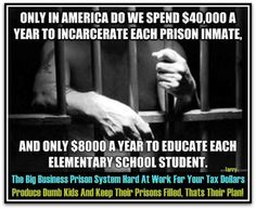 Privatizing basic necessities of society is never a good idea! The military ... prisons ... public schools.