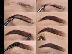 hair makeup Make Up; Make Up Looks; Make Up Augen; Make Up Prom;Make Up Face; Eyebrow Makeup Tips, Contour Makeup, Skin Makeup, Eyeshadow Makeup, Makeup Eyebrows, Shape Eyebrows, Makeup Hacks, Eye Brows, Eyebrow Shapes
