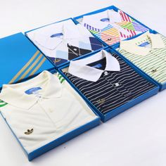 Adidas Originals celebrates Wimbledon by launching a set of commemorative tennis polos as worn by tennis greats Ivan Lendl, Ilie Nastase and Stan Smith.