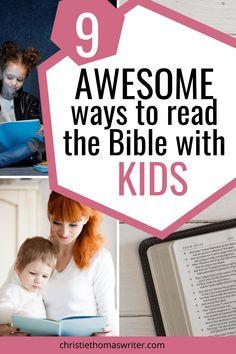 Family Bible Study, Bible Study For Kids, Bible Study Tips, Bible Lessons, Kids Bible, Ways To Read The Bible, Learn The Bible, Teaching Kids, Kids Learning