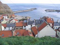 :: Staithes Harbour, near to Staithes, North Yorkshire, Great Britain by Michael King Seaside Towns, North Yorkshire, Great Britain, Ireland, Buildings, King, Places, Pictures, Photos