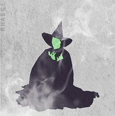 Wicked Witch melting gif