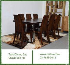 https://flic.kr/p/21FrC58 | 23592182_1700480903298136_14092412331108885_o | #diningset #diningfurniture #diningtable #diningchairs #teakiabj #teakfurniture #teakwoodfurniture #furniture