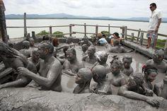 Relax in El Totumo Mud Volcano, Colombia - Bucket List Dream from TripBucket