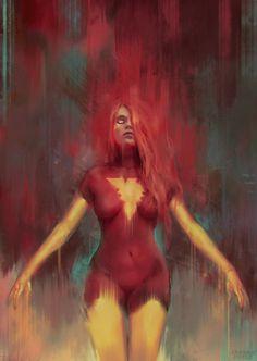 Dark Phoenix by Frankie Perez