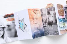 Minialbum *dream big* Steffi Ried #scrapbooking #minibook #studiocalico #minialbum #papercraft