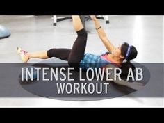 10 Minute Intense Lower Ab Workout - YouTube
