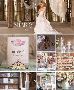 Imperfect layers of feminine fabrics, soft hues and distressed finishes merge the formality of vintage with the carefree ways of homespun. Plan to create layer upon layer of pretty with this stunning shabby chic wedding theme. Bodas Shabby Chic, Shabby Chic Wedding Decor, Shabby Chic Theme, Estilo Shabby Chic, Choosing A Wedding Theme, Modern Wedding Theme, Wedding Themes, Wedding Ideas, Elegant Wedding Invitations