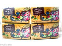 Trader Joe's Spiced Chai Assam Black Exotic Spices tea bags