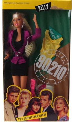 "Kelly Taylor | ""Beverly Hills, 90210"" Dolls, The Coolest Toys You Probably Never Owned"
