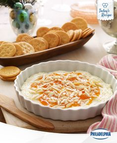 A surefire hit, this 3-step Sweet and Hot Cheese Spread recipe will have your guests coming back for more. But remember, no double dipping.